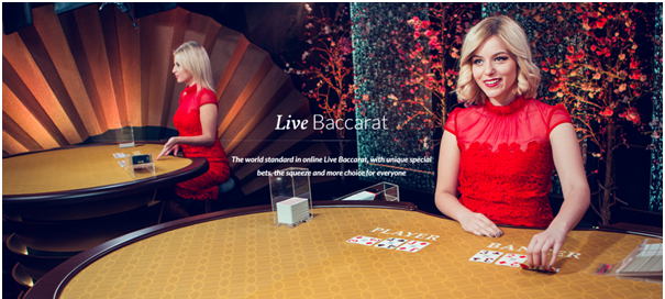 Live Baccarat at live casinos