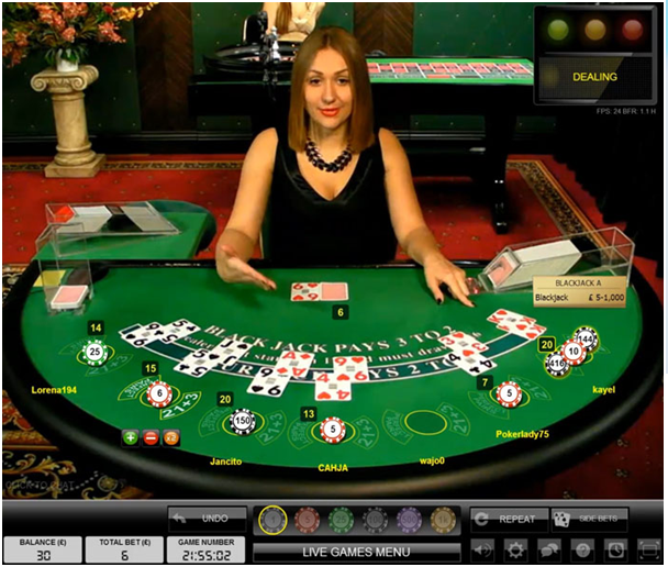 Live Blackjack with early Payouts