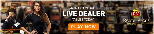 Live dealer games in CAD