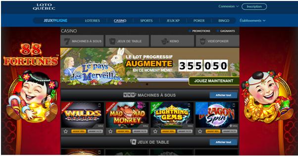 Lotto Quebec Live Casino