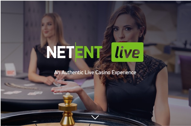 In 2020 play live games from NetEnt new Live Studio
