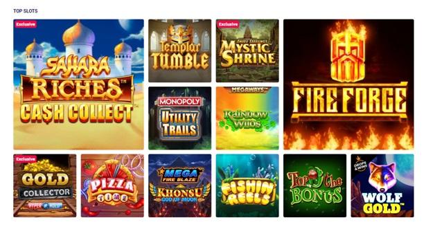 Partycasino - Slot games
