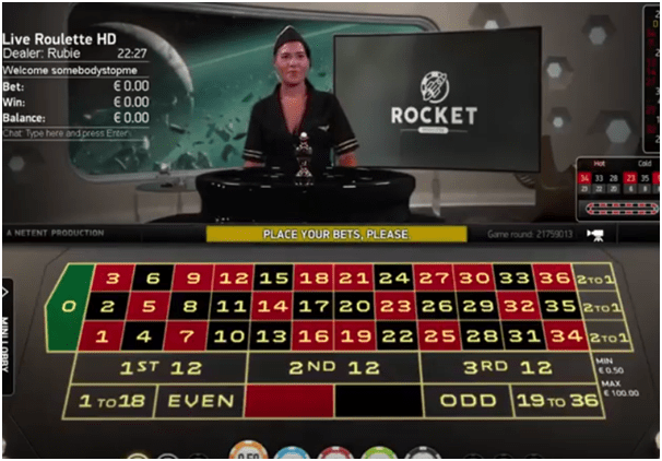 Rocket Roulette- How to Play