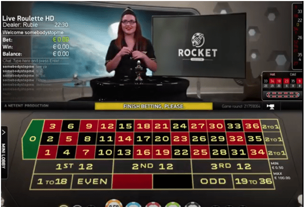 Rocket Roulette- Play for fun