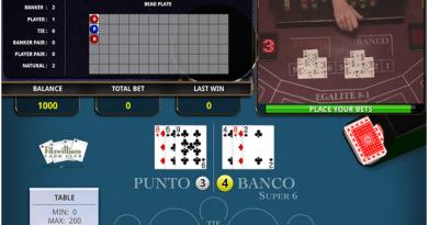 Super 6 live casino game