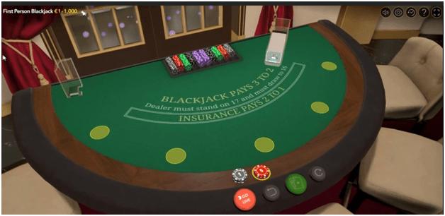 First Person- Blackjack