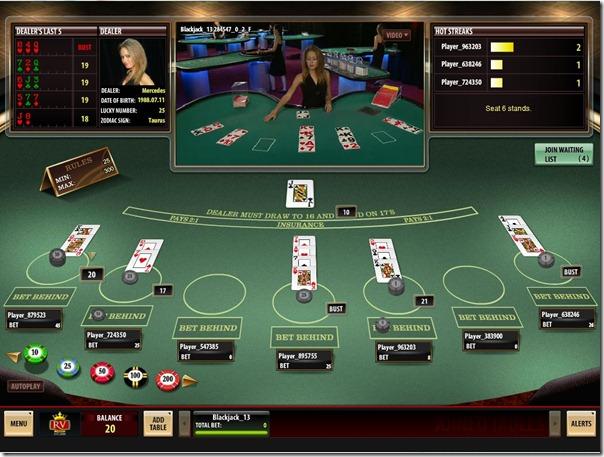 Hotstreak Live Dealer-Royal Vegas