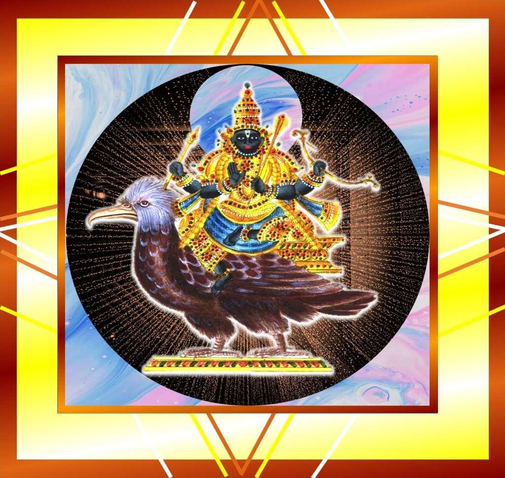 shani chalisa in enlgish & hindi with meaning