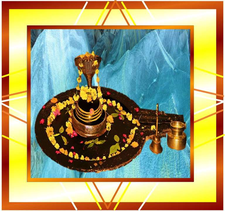 picture of Shivling of Lord Shiva