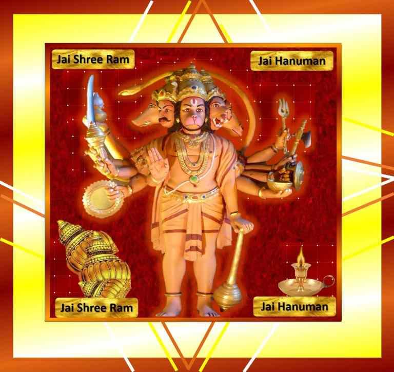 Panchmukhi Hanuman ji Puja