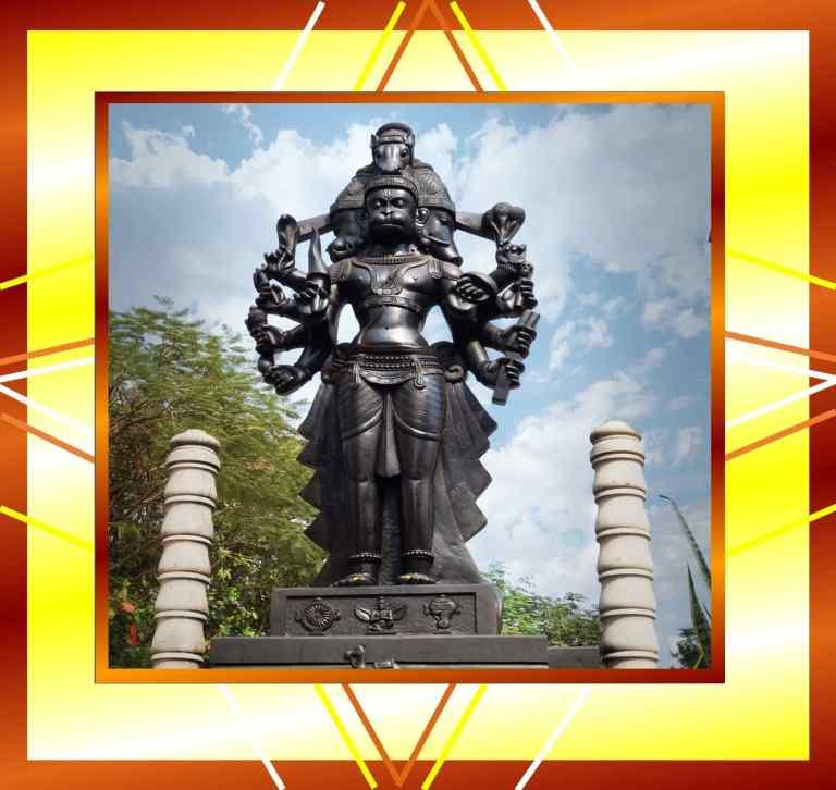 Panchmukhi Hanumanji Statue