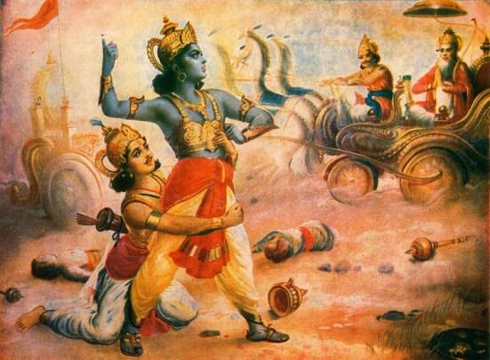 Lord Krishna and Arjuna relationship is complex