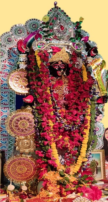 The Murti or Idol of Maa Kali & Puja
