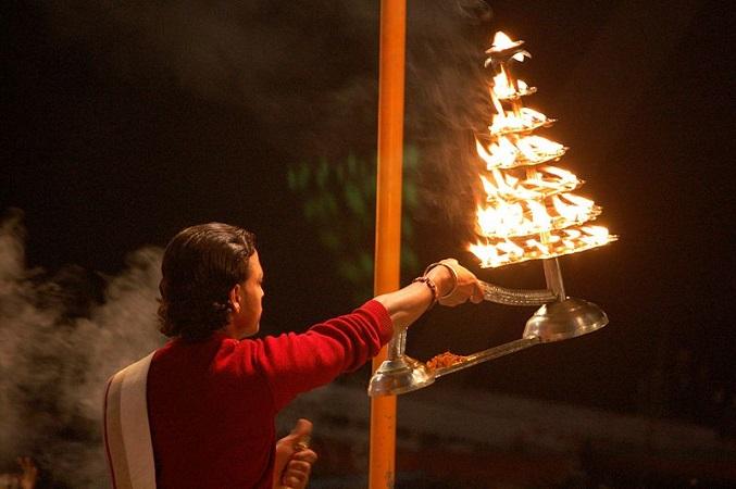 Puja Hindu Prayer Ceremony