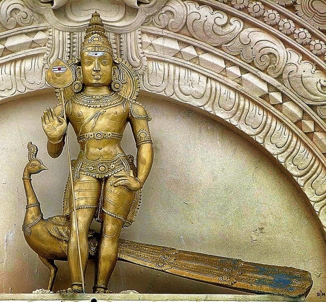 Golden Murti of Goddess