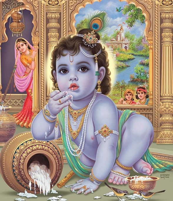 Santhana Gopala Baby Krishna