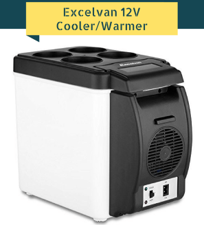 Excelvan BT16 6L 12V Portable Car Thermoelectric Cooler-Warmer