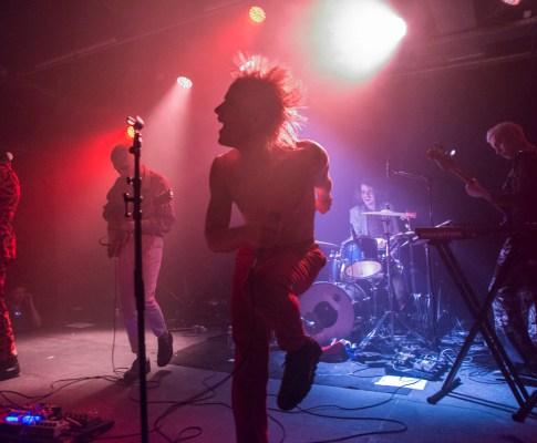 HMLTD – Festival GéNéRiQ – Dijon, Le Consortium – 17 février 2017