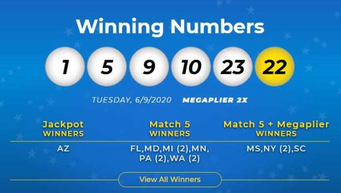 Mega Millions Numbers For 06/09/20: Tuesday Jackpot was worth $410 Million