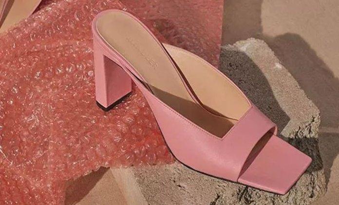 Massive heel fashion women's summer shoes
