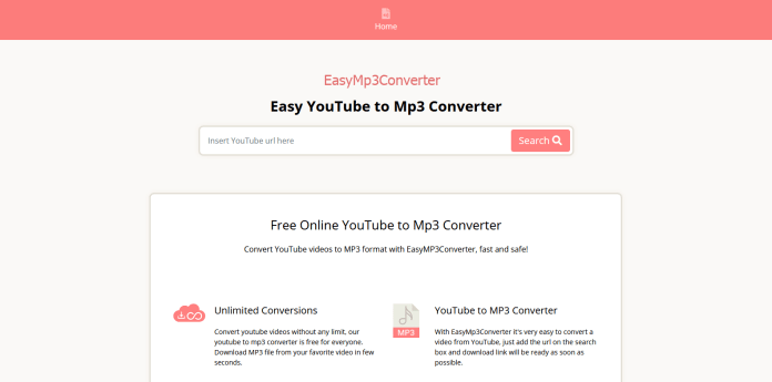 Easy YouTube to Mp3 Converter
