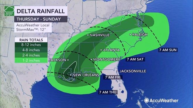 delta hurricane update