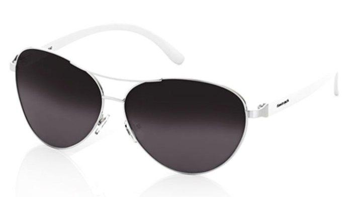 Silver Aviator Fastrack Women Sunglasses