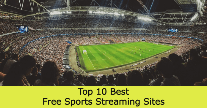 Top 10 Best Free Sports Streaming Sites