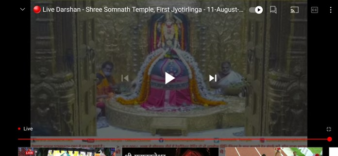 Somnath Live Darshan and Live