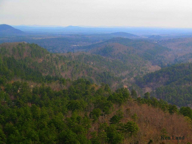 Arkansas Ouachita Mountains