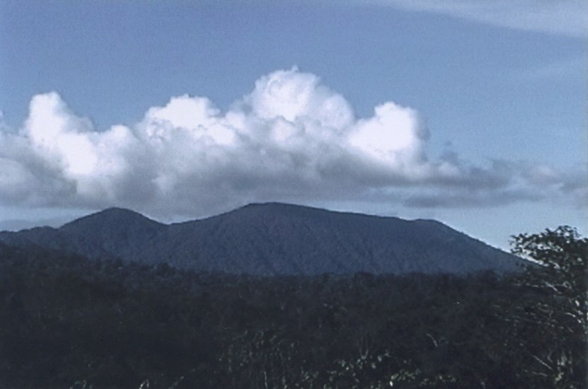 """crater mountain in Papua New Guinea - """"Mount Sual"""""""