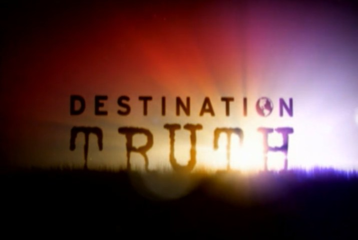 Sci Fi Destination Truth introduction image
