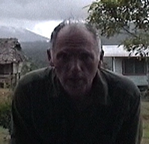 Jonathan Whitcomb on his 2004 expedition in Papua New Guinea