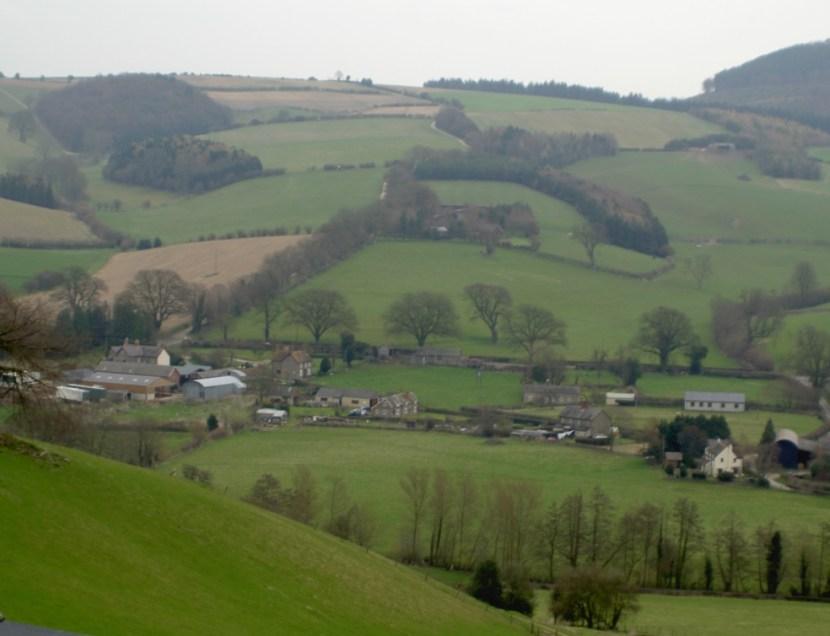 countryside - Shropshire, England