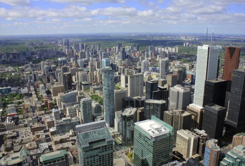 sky scrapers of Toronto