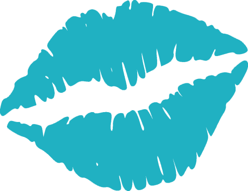 small resolution of teal kiss