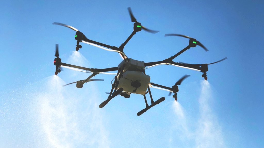 Drone per trattamento aereo