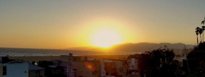 Sunset in Santa Monica