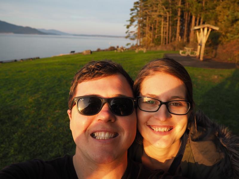 Couple in Washington Park Anacortes