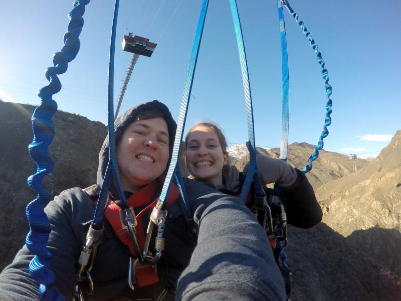 Worlds biggest canyon swing - LiveRecklessly.com