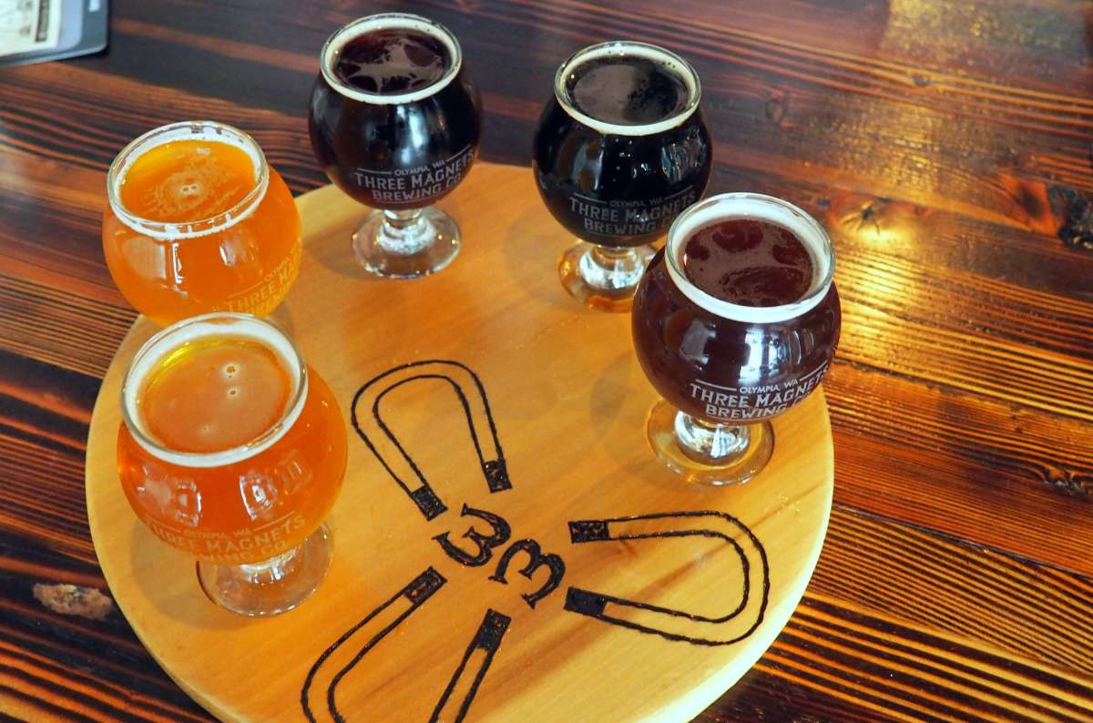 3 Magnets Brewery - A rainy weekend in Olympia, Washington's funky capital city - LiveRecklessly.com