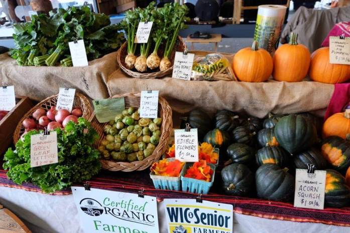 Produce at the Farmers Market - A rainy weekend in Olympia, Washington's funky capital city - LiveRecklessly.com