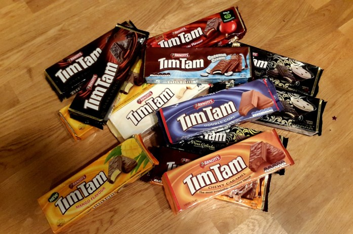 Expat Escapades November 2016 - LiveRecklessly.com - birthday timtams