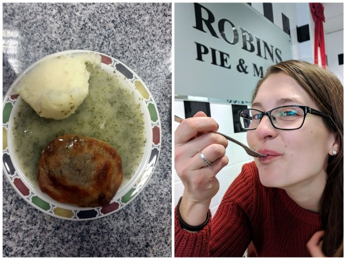 Expat Escapades December - British pie and mash - Live Recklessly