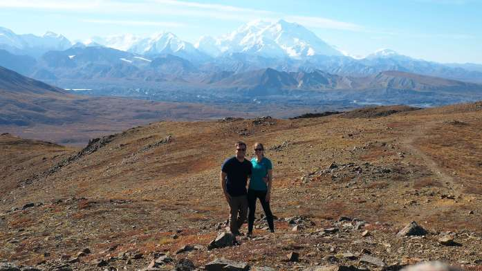 Alaska in Photos - team photo at Denali National Park - Live Recklessly