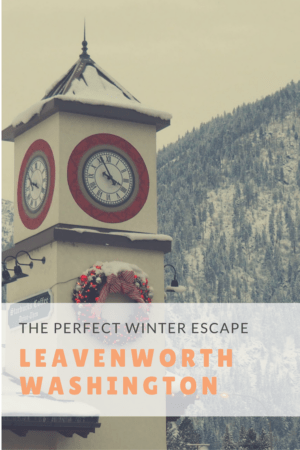 A winter escape to Leavenworth, Washington proves this Bavarian town is Christmas holiday magic - complete with gluhwein, beer and German food! Read more at www.liverecklessly.com