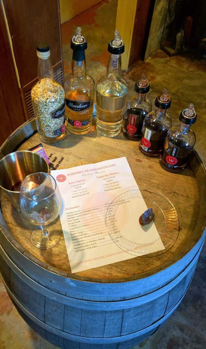 Whidbey Island Distillery tasting - Red wine and chocolate overload on the Whidbey Island Wine Trail - LiveRecklessly.com