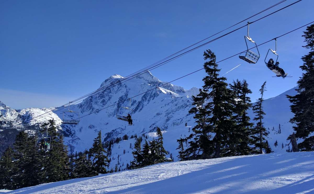Chairlift views at Mt Baker - Live Recklessly