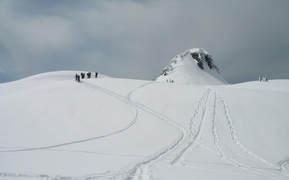 Mt Baker backcountry - Live Recklessly