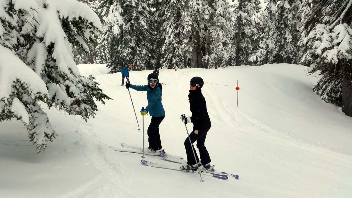 On the boundary line - Mt Baker - Live Recklessly